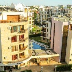 Отель Magnolia Garden Aparthotel Солнечный берег балкон