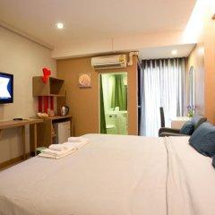 SF Biz Hotel 3* Номер Делюкс с различными типами кроватей фото 6