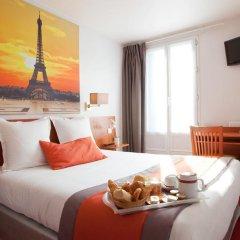Отель Hôtel Alyss Saphir Cambronne Eiffel 3* Стандартный номер с двуспальной кроватью фото 3