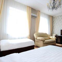 Гостиница Vision 3* Стандартный семейный номер с двуспальной кроватью фото 7