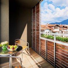 Отель Lucky Bansko Aparthotel SPA & Relax Болгария, Банско - отзывы, цены и фото номеров - забронировать отель Lucky Bansko Aparthotel SPA & Relax онлайн балкон