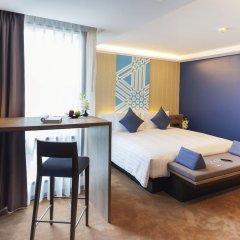 Отель U Sukhumvit Bangkok 4* Семейный номер Делюкс с двуспальной кроватью фото 5