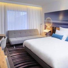 Отель Novotel Wroclaw Centrum 4* Улучшенный номер с различными типами кроватей фото 4