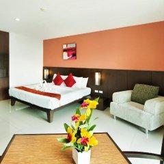 Отель Rattana Residence Sakdidet 3* Стандартный номер с различными типами кроватей фото 2
