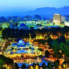 Отель Tirana International Hotel & Conference Centre Албания, Тирана - отзывы, цены и фото номеров - забронировать отель Tirana International Hotel & Conference Centre онлайн бассейн фото 2