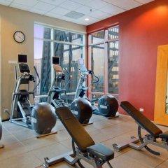 Отель Hilton Suites Chicago/Magnificent Mile фитнесс-зал фото 3