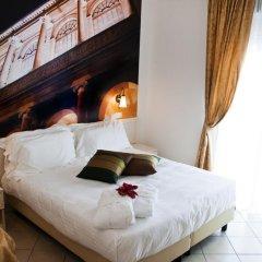 Hotel Sovrana & Re Aqva SPA 4* Улучшенный номер двуспальная кровать фото 9