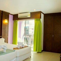 Hawaii Patong Hotel 3* Улучшенный номер с двуспальной кроватью фото 5