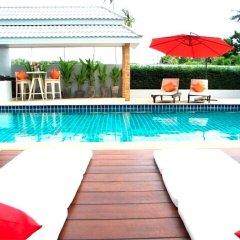 Отель Green Leaf Nai Harn 3 bedrooms Villa бассейн