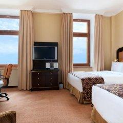 Гостиница Hilton Москва Ленинградская 5* Номер Делюкс с различными типами кроватей фото 7
