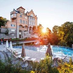 Отель Schloss Monchstein Зальцбург бассейн фото 3