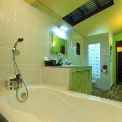 Отель Saladan Beach Resort 3* Бунгало с различными типами кроватей фото 22