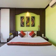Отель Patong Buri 3* Улучшенный номер с различными типами кроватей фото 6