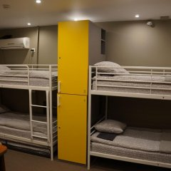 Хостел Обской Кровати в общем номере с двухъярусными кроватями фото 9