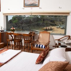 Отель White Villa Resort Aungalla балкон