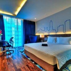 Отель Galleria 10 Sukhumvit Bangkok by Compass Hospitality 4* Стандартный номер с двуспальной кроватью фото 11