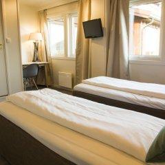 Отель Lillehammer Turistsenter Budget Hotel Норвегия, Лиллехаммер - отзывы, цены и фото номеров - забронировать отель Lillehammer Turistsenter Budget Hotel онлайн комната для гостей фото 5
