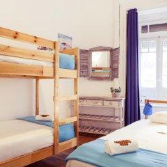 Lisbon Chillout Hostel Privates Стандартный номер с различными типами кроватей фото 4