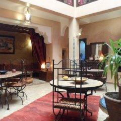 Отель Riad Lapis-lazuli Марракеш питание