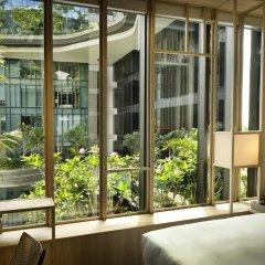 Отель PARKROYAL on Pickering 5* Улучшенный номер с различными типами кроватей фото 3