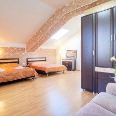 Гостиница Континент Анапа комната для гостей фото 4