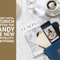 Small Luxury Hotel Ambassador Zürich интерьер отеля фото 2