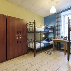 Кино Хостел на Пушкинской Кровать в общем номере с двухъярусными кроватями фото 2