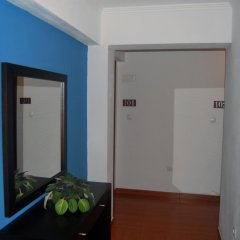 Отель Residência Machado сейф в номере