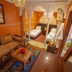 Отель Dar Ikalimo Marrakech 3* Улучшенный номер с различными типами кроватей фото 6