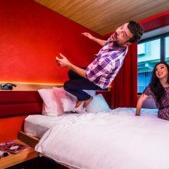 Отель Hôtel Yooma Urban Lodge 3* Стандартный номер с двуспальной кроватью фото 3