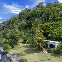 Отель The Remote Resort, Fiji Islands 4* Вилла Делюкс с различными типами кроватей фото 10