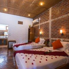 Teak Wood Hotel 3* Бунгало с различными типами кроватей фото 3