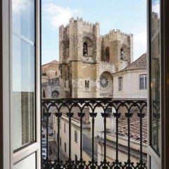 Отель Cibele by Patio 25 Португалия, Лиссабон - отзывы, цены и фото номеров - забронировать отель Cibele by Patio 25 онлайн балкон