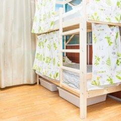 Гостиница Hostels Rus Golovinskiy Кровать в общем номере с двухъярусной кроватью