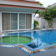 Отель 4 BR Pool Villa Gated Village бассейн