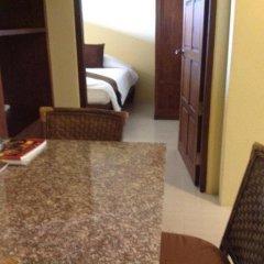 Отель Villa Thongbura 3* Студия с различными типами кроватей фото 30