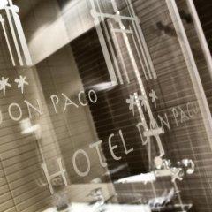 Отель Don Paco 3* Стандартный номер с различными типами кроватей фото 12