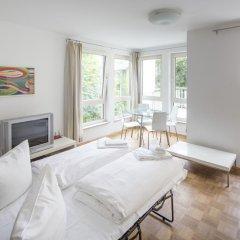 Апартаменты Pfefferbett Apartments Regierungsviertel Берлин комната для гостей фото 4