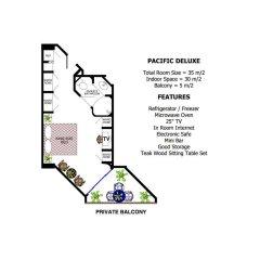 Отель Pacific Club Resort 4* Номер Делюкс двуспальная кровать фото 2