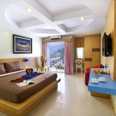 Отель Patong Eyes 3* Стандартный номер с двуспальной кроватью фото 2