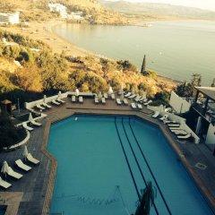 Отель Lindos Mare Resort Греция, Родос - отзывы, цены и фото номеров - забронировать отель Lindos Mare Resort онлайн бассейн