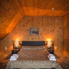 Гостиница Снежный барс Домбай 3* Студия Делюкс с различными типами кроватей фото 14