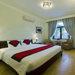 Отель An Hoi Town Homestay 2* Номер Делюкс с различными типами кроватей фото 2