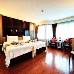 Jomtien Garden Hotel & Resort 4* Номер Делюкс с различными типами кроватей фото 49