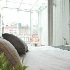 Отель The Mei Haus Hongdae 3* Стандартный семейный номер с двуспальной кроватью фото 24