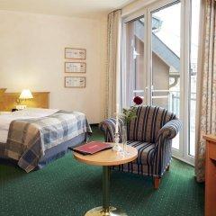 Отель Kurpark Villa Aslan 4* Стандартный номер с различными типами кроватей