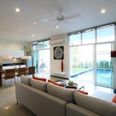 Отель Two Villas Holiday Oxygen Style Bangtao Beach 4* Вилла с различными типами кроватей фото 8