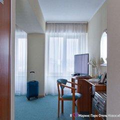 Marins Park Hotel Novosibirsk 4* Стандартный номер с двуспальной кроватью фото 5