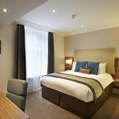Amba Hotel Charing Cross 4* Номер Делюкс фото 9