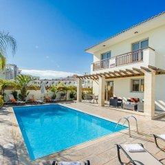Отель Oceanview Villa 089 Кипр, Протарас - отзывы, цены и фото номеров - забронировать отель Oceanview Villa 089 онлайн бассейн фото 2